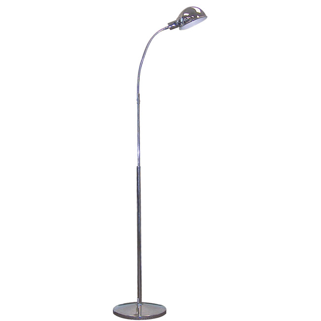 Drive Medical Chrome Gooseneck Floor Lamp - Drive Medical Accessories