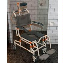 Showerbuddy Roll-inBuddy with Tilt Chair Rehab Shower Commode Chair