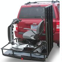 Prairie View Ramps TrekAway Outside Manual Vehicle Lift