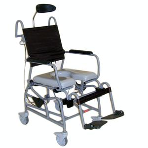 Activeaid Tilt-in-Space Shower Commode Chair Rehab Shower Commode Chair