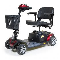 Golden Technologies Buzzaround XL 4-Wheel Travel Scooter