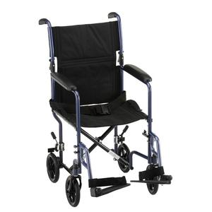 "Nova 19"" Steel Transport Chair Basic Transport Wheelchairs"