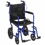 "Drive Medical Lightweight Expedition w/12"" Rear Wheels"