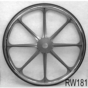 New Solutions 24x1 Economy Mag Wheels, pair Wheel