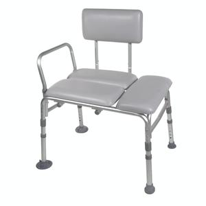 Drive Medical Padded Transfer Bench Transfer Bench