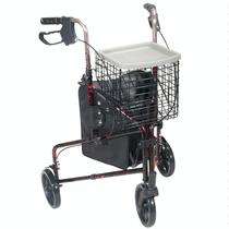 Drive Medical Deluxe 3-Wheel Rollator Specialty Walkers