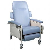 Drive Medical 4 Position Clinical Care Recliner Geri Chair