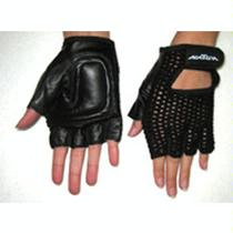 New Solutions Breathable Mesh and Leather Gloves Gloves