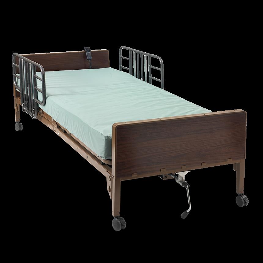 medline basic semi electric bed medline semi electric frames - Basic Bed Frame