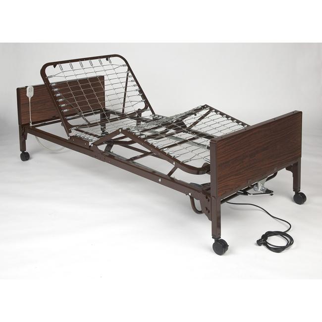 medline medlite semi-electric bed - medline semi-electric frames