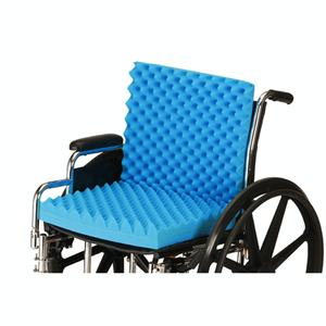"Nova 3"" Convoluted Seat and Back Cushion General Use Backrest"