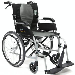 Karman Healthcare Ergo Flight Folding Wheelchair