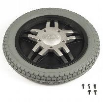 "Pride 14"" Gray Flat-Free Drive Wheel Assembly for Jet Power Chairs Drive Wheel Assemblies"