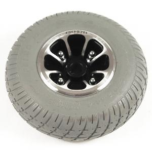 Pride Gray Flat-Free Wheel Assembly for Revo Scooters Rear Wheel Assemblies