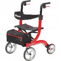 Drive Medical Nitro Rolling Walkers W/Handbrakes