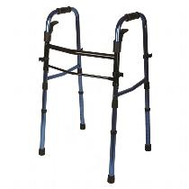 Medline Folding Paddle Walker Standard Walker
