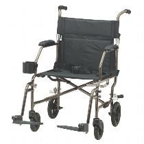 Medline Freedom Wheelchair Lightweight Transport Wheelchair