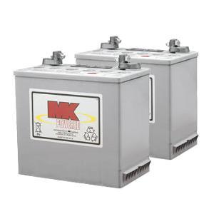 mk battery 12v 50 ah sealed gel pair batteries mk battery batteries. Black Bedroom Furniture Sets. Home Design Ideas