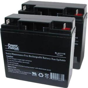 Interstate Batteries 12V 18 AH Sealed Lead Acid (Pair) Battery