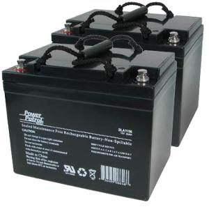 Interstate Batteries 12V 34 AH Sealed Lead Acid (Pair) Battery