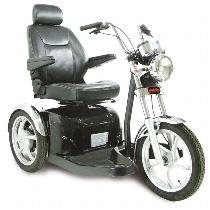 Pride Sport Rider 3-Wheel 3-Wheel Full Size Scooter