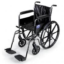 Medline K2 Basic Wheelchair Standard Wheelchair