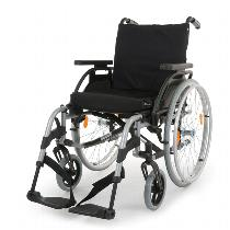 Sunrise / Quickie Breezy Elegance Silver Lightweight Wheelchair