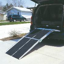 Prairie View Ramps Multifold Reach Ramp Van Ramp