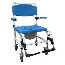 Drive Medical Bariatric Aluminum Rehab Shower Commode Chair Rehab Shower Commode Chair