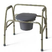 Medline Steel Bariatric Commode Commode