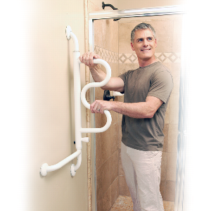 Stander Pivoting Curve Grab Bar Stander Products