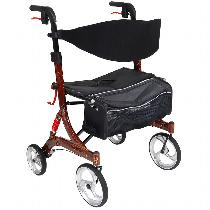 Drive Medical Nitro HD Heavy Duty/High Weight Capacity Rolling Walker
