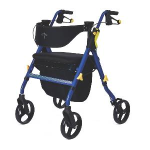 Medline Empower Rollator Rolling Walkers W/Handbrakes
