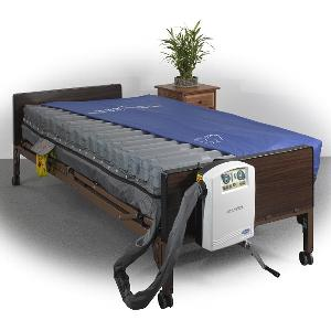 "Drive Medical Masonair 10"" Low Air Mattress and Alternating Pressure Mattress System Bariatric Mattresses"