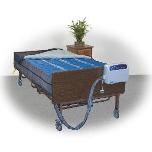 "Drive Medical Med-Aire Plus 10"" Bariatric Alternating Pressure Mattress Replacement System Bariatric Mattresses"