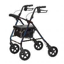 "Invacare ProBasics w/8"" Wheels Rolling Walkers W/Handbrakes"