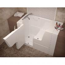 MediTub Wheelchair Access Bathtub Walk-In Tubs
