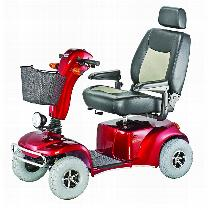Merits Health Pioneer 10 DLX 4-Wheel Scooter Heavy Duty/High Weight Capacity Scooter