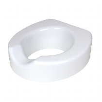 Carex Quick-Lock Raised Toilet Seat Raised Toilet Seat