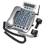 Sonic Alert Amplified Corded Phone with Emergency Connect For The Home