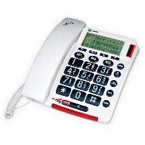 Sonic Alert Amplified Corded Telephone with Talking Caller ID For The Home