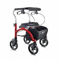 Drive Medical Arc Lite Rollator Rolling Walkers W/Handbrakes