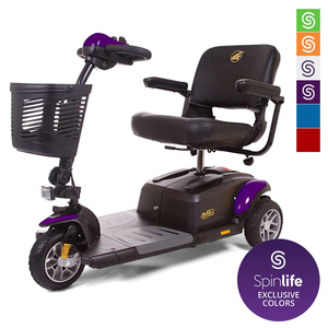 Golden Technologies Buzzaround EX 3-Wheel Travel Scooter