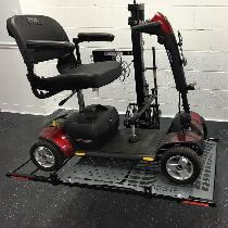 WheelChair Carrier Hold 'n' Go Scooter Lift Outside Power Vehicle Lift