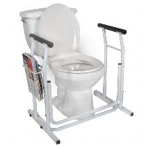 Drive Medical Free-Standing Toilet Safety Rail Toilet Safety Frame