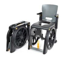 Clarke Healthcare WheelAble Folding Commode and Shower Chair Commode