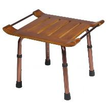 Drive Medical Teak Adjustable-Height Shower Bench Stools & Seats
