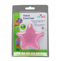 Nova Pink Exercise Squeeze Star, Soft Accessories