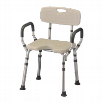 Nova Bath Seat with U-Shaped Cutout Stools & Seats
