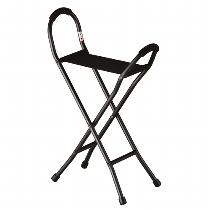 Nova Travel Seat Cane Quad Cane